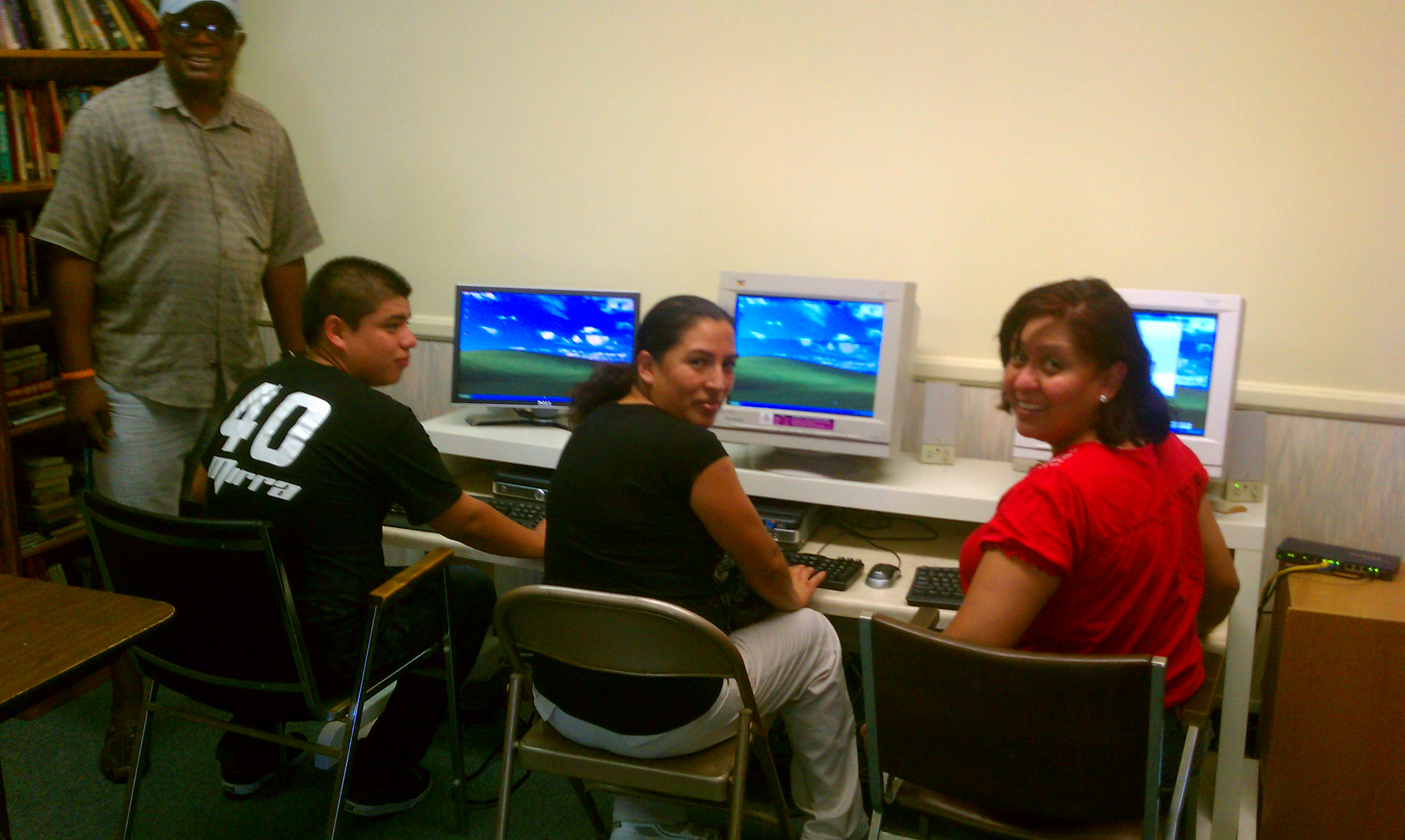 Students at Lab In Huntington Beach